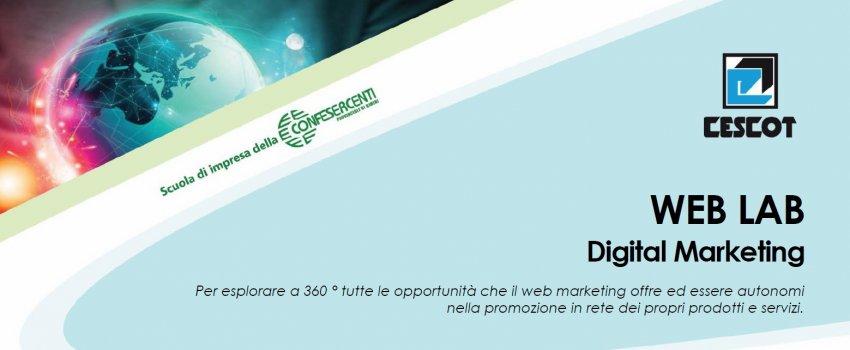 WEB LAB - corso pratico di Digital Marketing in videoconferenza
