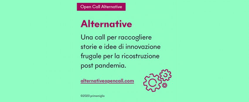 OPEN CALL ALTERNATIVE