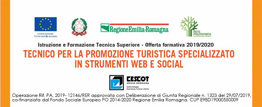 SPECIALIZZAZIONE IN TECNICHE DI WEB MARKETING APPLICATE AL TURISMO