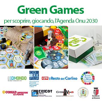 Green Games per scoprire, giocando, l'Agenda Onu 2030